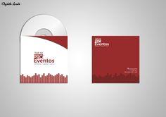 "Capa de cd, desenvolvida para o cliente oferecer ao cliente de ""brinde"""