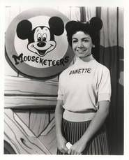 """Annette Funicello was one of the most popular, """"mouseketeers"""" on TV's, """"The Mickey Mouse Club.  She later went on to star with Frankie Avalon in the early 1960's in several """"beach"""" movies, including, """"Beach Blanket Bingo""""."""
