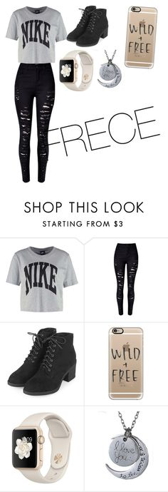 """""""Untitled #132"""" by willowsong25 on Polyvore featuring NIKE, Topshop and Casetify"""