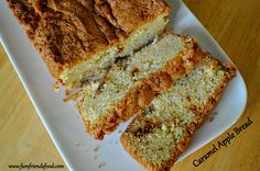 Caramel Apple Bread | www.famfriendsfood.com