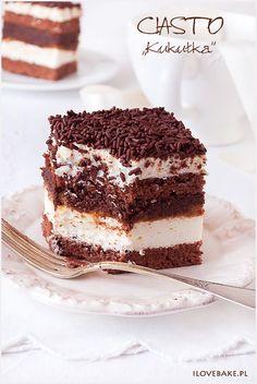 """Chocolate layer cake / Ciasto """"kukułka"""" #chocolate"""
