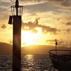 Sunset from Tivat Promenade