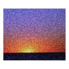 Digital Expressionism: Sunset