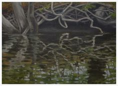 """""""Canoe Painting 2"""": FOR SALE (e-mail for information)"""