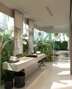 6 Simple and Modern Tricks Can Change Your Life: Natural Home Decor Inspiration Interior Design simple natural home decor woods.Natural Home Decor Wood Floors natural home decor modern floors.Natural Home Decor Earth Tones Rugs. Outdoor Bathrooms, Dream Bathrooms, Beautiful Bathrooms, Luxurious Bathrooms, Spa Bathrooms, Outdoor Tub, Half Bathrooms, Outdoor Baths, Style At Home
