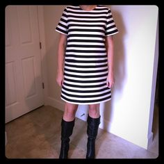 {2X HP} Kate spade yarn dyed stripe dress Kate spade yarn dyed stripe dress - retails for $398 kate spade Dresses Mini