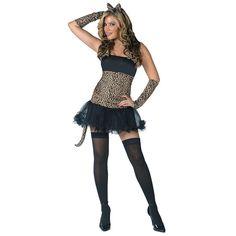 Wild Cat Adult Womens Costume - TerrysVillage.com