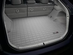 2010 2017 Toyota Prius Not Plug In Hybrid Weathertech Custom Cargo Trunk Liners Grey