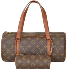 Louis Vuitton Monogram Papillon 30 With Mini Pouch Large Size M51365 Brown Satchel. Save 72% on the Louis Vuitton Monogram Papillon 30 With Mini Pouch Large Size M51365 Brown Satchel! This satchel is a top 10 member favorite on Tradesy. See how much you can save