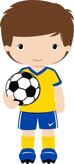 View all images at PNG folder Human Doll, Sports Day, Soccer Boys, Soccer Party, School Logo, Polymer Clay Dolls, Art For Kids, Chibi, Activities For Kids