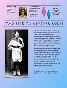Two Spirits: Gender Roles; Two Spirit, Gender Roles, Show Video, Native American Tribes, Art Lesson Plans, Art Lessons, Nativity, Art Projects, Students