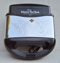 "VILLAWARE DISNEY ""WINNIE-THE-POOH"" WAFFLE MAKER #Disney"