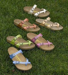 Check out all these amazing colors Birkenstock offers!