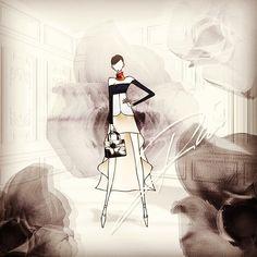 I love #dior #rafsimons you #rock #prefall #fashion #fashiondrawing #fashionillustration #illustration #instaart #flower #black #art #dailyart #christiandior #ladydior #graphic #architecture #collage #flim #jsk #nyfw #mbfw #doodle #draw #일러스트 #디올 #패션 #그림 #아트 #플라워