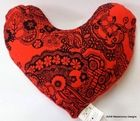 Still Sexy Mastectomy Underarm Pillow, offered in large or small with a red fleece backing Heart Pillow, Small Pillows, Breast Cancer Survivor, Underarm, Heart Shapes, Sewing Projects, Sexy, Design