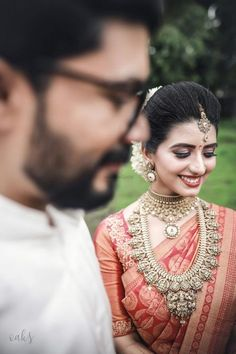 20+ Amazing Temple Jewellery Designs That We Spotted On WMG Brides! | WedMeGood