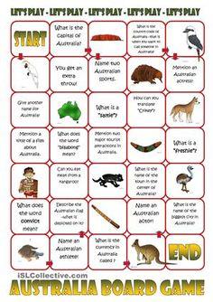 Australia Board Game