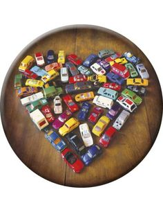 """Magnet """"Love Toy Cars"""""""