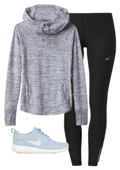 A fashion look from January 2016 by elizabethannee featuring Athleta, NIKE, Bobbi Brown Cosmetics, Eos and PhunkeeTree Lazy Day Outfits, Cute Comfy Outfits, Sporty Outfits, Outfits For Teens, Trendy Outfits, Girl Outfits, Fashion Outfits, Cute Athletic Outfits, Athletic Clothes