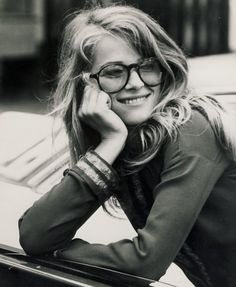 English model and actress Charlotte Rampling photographed in 1970s   (but parisienne at heart)