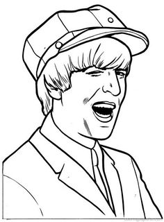 beatles coloring pages 12