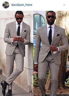d61148df0c Κοστούμι Black Check Suit, Wedding Men, Wedding Suits, Business Casual  Attire, Stylish