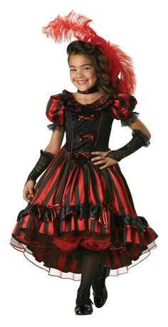 can can cutie girls costume