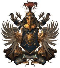 гербы из игр - Google Search