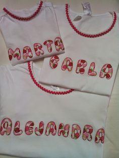 ARTE&JOYAS de PRINCESAS: Camisetas para 3 Princesas