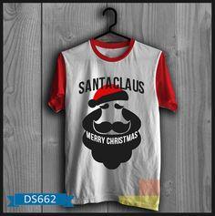 """T-shirt Pria Santaclaus Merry Christmas Kode : DS662  Harga :  Size :  S : 85.000  M : 85.000  L : 85.000  XL : 90.000  XXL: 95.000  Grosir ada Diskon Khusus. untuk pengambilan 3 pasang keatas boleh campur.  **Lama pengerjaan baju membutuhkan waktu 2-3 hari setelah proses transfer  Bahan : Cotton Combed  ====================   yukk order dengan sms kami di 085288202838 atau bbm di 23663f82 """"DICARI RESELLER DAN DISTRIBUTOR DI INDONESIA"""""""