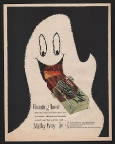1954 MARS MILKY WAY Candy Bar