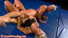 Female Wrestling Clip 107