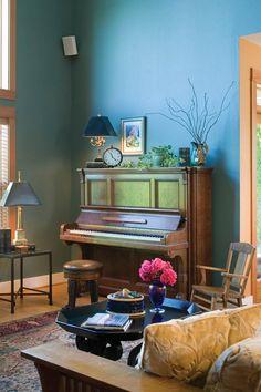 Quaint corner WIth Comfortable Piano - plan #011D-0169 | houseplansandmore.com