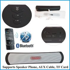MP3 Wireless Handsfree Bluetooth Speaker for Apple Mac Smartphone Tablet Mobile