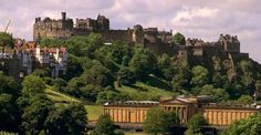 Edinburgh Castle is Scotland's most important & famous fortress.  You can see it rising huge & dark across the skyline from the streets of Edinburgh.