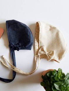 Handmade Baby Bonnets by Grace & Grace Co on Etsy