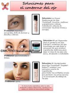 En los ojos se nota el paso del tiempo o el mal cuidado de la piel. Con pocos productos asegúrate del cuidado!!! Contacta conmigo y te asesorare