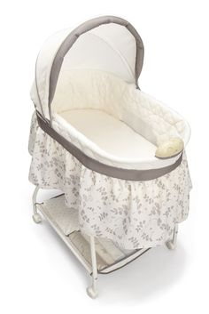Ava had this! Its great for newborns!  Sweet Beginnings Falling Leaves Bassinet $62