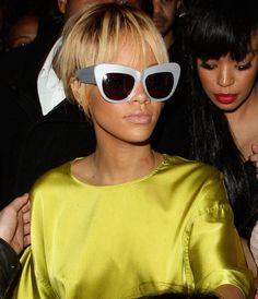 Les lunettes de Rihanna aux Brit Awards 2012!   Lunettes de.com Lunettes, d4850685c646
