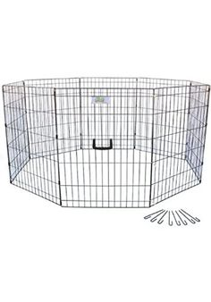 Special Offers - Go Pet Club 36-Inch High Wire Play Pen 8-Panels - In stock & Free Shipping. You can save more money! Check It (April 08 2016 at 09:28AM) >> http://doghousesusa.net/go-pet-club-36-inch-high-wire-play-pen-8-panels/