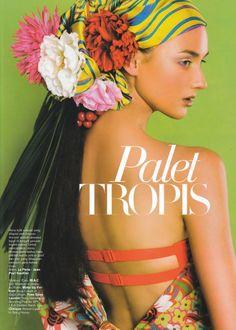 Venera for Harper's Bazaar. Photographed by Nicoline Patricia Malina