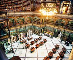Royal Portuguese Reading Room Rio de Janeiro, Brazil #learnbrazilianportuguese