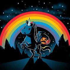 The Headless Unicornsman | Funny, cute & nerdy shirts | TeeTurtle