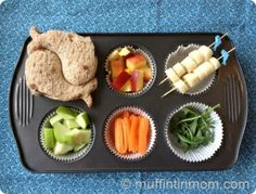 """Cute way to get picky kids to eat. Or maybe a fun idea for """"portion control"""" for us kids who have grown up. :-)"""