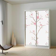 Αυτοκόλλητο ντουλάπας Sweet Blossom Room Divider, Decor, Furniture, Home, Home Decor, Room