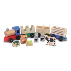 Melissa & Doug Farm Train - Beyond the Rack