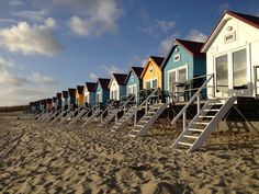 The Netherland #beaches are one of the country's most popular tourist attractions. #visitholland