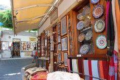 Shopping in Lindos, Rhodes