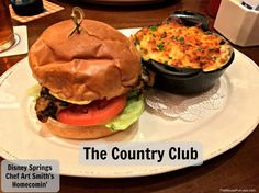The Country Club from Homecomin': Florida Kitchen and Southern Shine Menu - Farm Fresh Dining at The Landing - Disney Springs Walt Disney World Resort