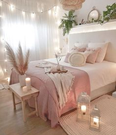 bedroom decor for couples . bedroom decor ideas for women . bedroom decor for small rooms . bedroom decor ideas for couples . Room Ideas Bedroom, Small Room Bedroom, Home Decor Bedroom, Diy Bedroom, Budget Bedroom, Bedroom Furniture, Decor Room, Bedroom Inspo, Girls Pink Bedroom Ideas